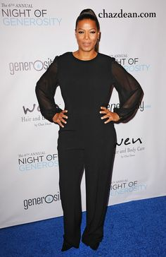 The Hottest Celebs Out & About Diva Fashion, 50 Fashion, Curvy Fashion, Plus Size Fashion, Fashion Outfits, Womens Fashion, Ourfit, Queen Latifah Show, Lab