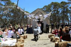 A country wedding with a twist on beautiful Kangaroo Island at the Old Wisanger School. Historical info on the blog