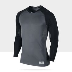 dc4eaeb90 Nike Pro Combat Core Fitted Raglan 1.2 Long-Sleeve Men s Baseball Shirt