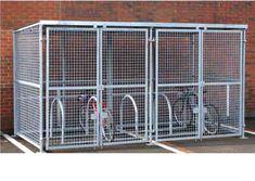 security bike shelter