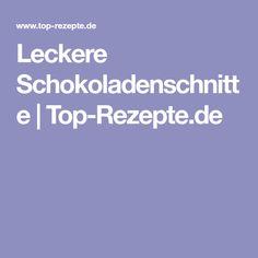 Leckere Schokoladenschnitte | Top-Rezepte.de