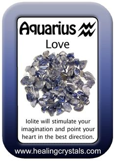 Love is everywhere but it is especially noticeable as Valentine's Day approaches so over the next few days we will post Astrological Love Cards that show a crystal that resonates with each Zodiac sign. You can use the crystals and/or the card to share, attract, send or just surround yourself with the Love! Don't forget to use the code HCLOVE for 15% off anything from healingcrystals.com through 2/13