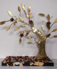 Diy And Crafts, Candle Holders, Candles, Fruit, Trees, Paper Mache, Olive Tree, Tree Structure, Porta Velas