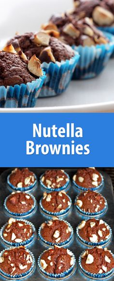Nutella, eggs, and flour. That's it! And they are amazing.