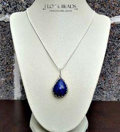 lapis lazuli pendant necklace-lapis sterling necklace-wire wrapped lapis pendant necklace-lapis lazuli-lapis jewelry-lapis necklace