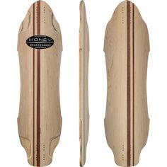 Honey DFR Longboard Skateboard Deck w/ Grip (Free Shipping)