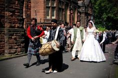 Indian & Scottish fusion wedding music