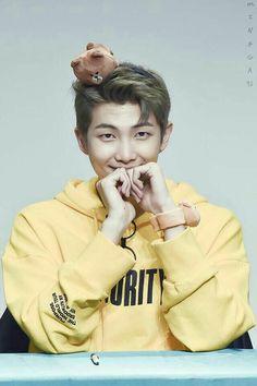 Yellow equals minion  equals cute soooio Namjoon equals cute confirmed