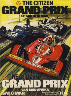 Motor Racing Programme Covers