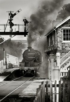 Under the boards, over the crossing, Grosmont, Yorkshire.