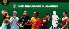 IPTL 2016: OUE Singapore Slammers: Serena Williams, Rainer Schuettler, Nick Kyrgios, Marcos Baghdatis, Carlos Moya, Kiki Bertens, & Marcelo Melo... http://www.iptlworld.com/teams/3-singapore-slammers-teamprofile