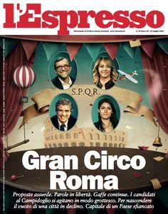 La copertina dell'Espresso in edicola da venerdì 13 maggio
