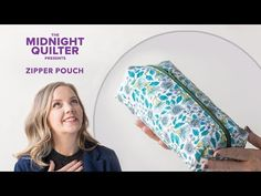 Welcome to the second week of the Holiday Gift-Along! Your hostess with the mostest (thread), Angela Walters, is back with another gift-worthy project idea: . Quilted Gifts, Quilted Bag, Quilting Tutorials, Quilting Projects, Sewing Projects, Handmade Christmas Gifts, Holiday Gifts, Handmade Gifts, Midnight Quilt Show
