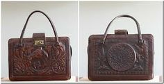 tooled leather bag - Google Search