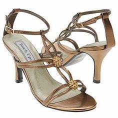 Touch Ups by Benjamin Walk Alana Shoes (Bronze Metallic) - Women's Shoes - 10.0 M