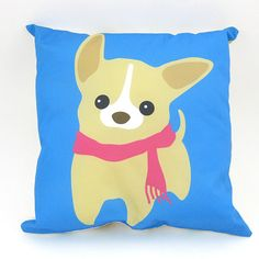Check out this item in my Etsy shop https://www.etsy.com/listing/117518124/chihuahua-decor-pillow-blue-only-1