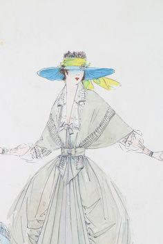 #vintage #Lucile #fashion #illustration #1900s