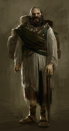 Traveler from God of War: Ascension