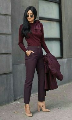 Chic Business Casual, Business Professional Outfits, Business Casual Outfits For Women, Fall Outfits For Work, Casual Work Outfits, Work Attire, Work Casual, Chic Outfits, Fashion Outfits