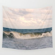 You will love this beautiful lightweight tapestry wall hanging that features my fine art ocean photograph. This lovely large wall art piece is