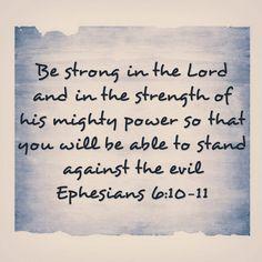 Friday Word | Ephesians 6:10-11