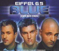 Blue (Da ba dee) is een succesvolle eurodance-single en zomerhit van de Italiaanse groep Eiffel 65. Het nummer stond zestien weken in de Nederlandse Top 40, waarvan vijf weken op nummer 1. vermaak, aliens, planeten, ruimteschip en buitenaardse wezens