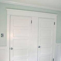 trim for guest bedroom closet doors