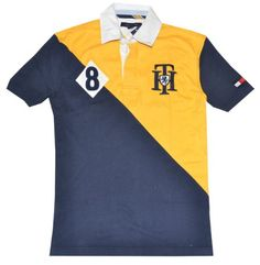 f07031f4ab271 Tommy Hilfiger Men Design Logo Rugby Polo T-shirt « Clothing Impulse