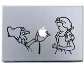 The Wicked Witch MacBook Apple Mac Decal Sticker Vinyl
