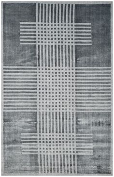 Mirage Hand-Woven Dark Gray Area Rug