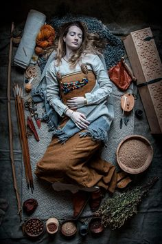 Amazing recreations of Viking Age burials by re-enactment group Andrimners Hemtagare