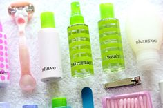 Gonna do it for those times I go away!-IHeart Organizing: Traveling with Toiletries