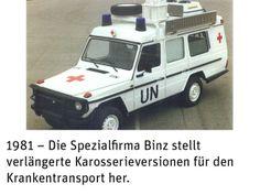 Mercedes G Historie: Mercedes-Exoten aus 35 Jahren (Bildergalerie, Bild 53) - 4WHEELFUN