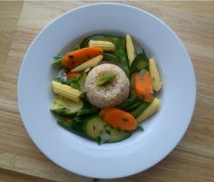 Ginger Rice with Japanese Vegetables /use wholegrain rice; skip oil and salt/