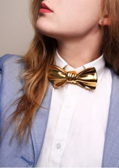 Need It Now: Cor Sine Labe Doli's Ceramic Bow Tie - Vogue Daily - Vogue