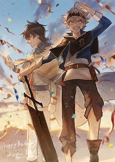 Anime K, Fanarts Anime, Anime Guys, Anime Fan Art, Demon Manga, Jiraiya Y Naruto, Clover Tattoos, Black Clover Manga, 3d Fantasy