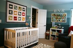 Not So Neutral Gender Neutral Nursery
