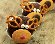 Muffins, Biscuits, Gingerbread Cookies, Food Art, Sugar, Easy, Desserts, Curly Hairstyle, Presentation