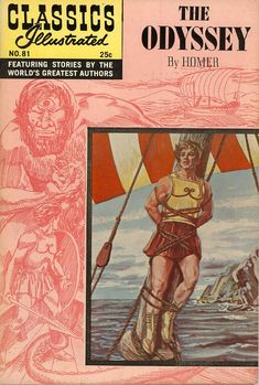 COMIC classics illustrated the odyssey #comic #cover #art