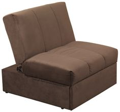 Single Sofa Bed Chair Pull Out Foam Cushions