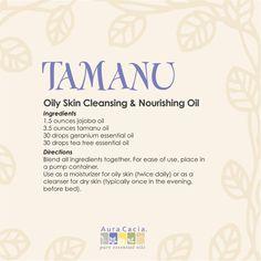 #tamanu oil #recipe