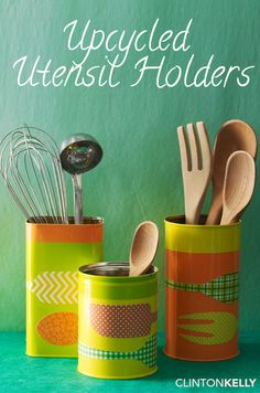 Love the cheeky retro look off these upcycled tins!