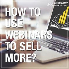 Do you want to #sell more using #webinars? This is by far one of the best #marketing and #sales tools available! Learn the ropes of selling via webinars in the link in my bio!