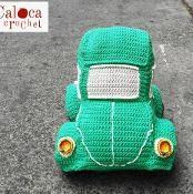 Amigurumi beetle car pattern. Crochet - via @Craftsy
