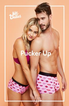 MeUndies are for lovers, BFFs, and secret crushes. Get your heart on with matching pairs. It�ll be love at first pair, or your money back guaranteed.
