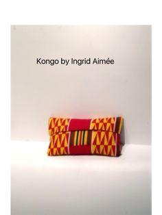 KNG - African Kente Clutch