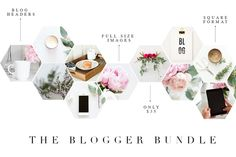 Coordinating Stock Images for Blogs by TwigyPosts on Creative Market