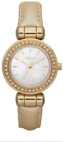 DKNY Women's NY8565 Beige Calf Skin Quartz Watch with Mother-Of-Pearl Dial DKNY. $109.97. 40mm Case Diameter. Mineral Crystal. 30 Meters / 100 Feet / 3 ATM Water Resistant. Quartz Movement. Save 19% Off!