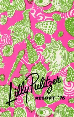 Vintage - but is Lilly ever out of style, even if it's vintage?