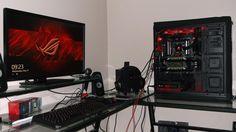 Uno de nuestros fans nos comparte su PC, gracias Marco Antonio Franco, después rifamos las Titans X que nos regalarás. :)
